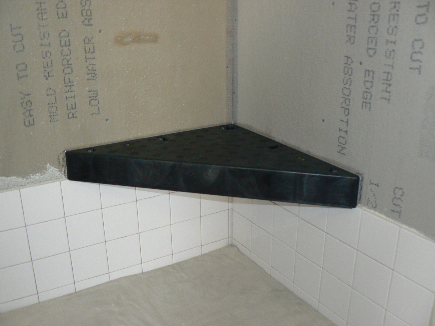 Tile Over Tile Shower Wall